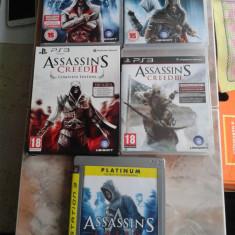 Vand pachet 5 jocuri PS3, playstation 3, seria ASSASINS CREED - Assassins Creed 4 PS3 Ubisoft, Single player