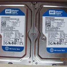 HDD 250GB SATA 16MB cache WD - Bonus cablu date SATA - Hard Disk Western Digital, 200-499 GB, Rotatii: 7200