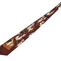 Cravata funny - culoare caramiziu - Cravata Copii