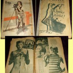 1941 Supliment MAGAZINUL, almanah de Pasti, moda, film, reportaje, literaratura