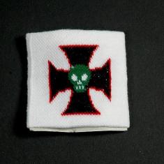 Manseta Cruce de fier cu Craniu