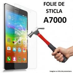 FOLIE de STICLA securizata LENOVO A7000, 0.33mm, 2.5D, 9H tempered glass - Folie de protectie Lenovo, Anti zgariere