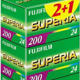 3 Filme Fujifilm Superia 200 135/24