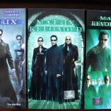 Film SF, Caseta video, Romana - Set casete video cu trilogia SF MATRIX