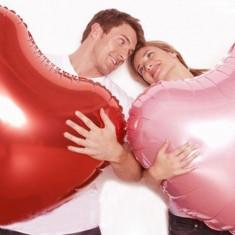 Balon folie - Inima Gigant 75 cm - Baloane copii Altele