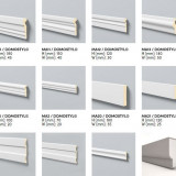 Profile de polistiren pentru fatada interior/exterior