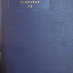 Carte juridica - CODUL CIVIL ADNOTAT de C. HAMANGIU, VOLUMUL III (ART. 1169-1531) 1925