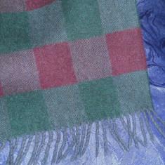 Fular lana virgina, deosebit - Fular Barbati, Multicolor