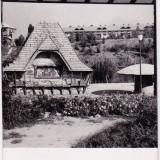 CARTE POSTALA BUCURESTI PARCUL 23 AUGUST TEATRUL DE PAPUSI CIRCULATA 1957 - Carte Postala Muntenia dupa 1918, Fotografie
