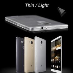 Husa Telefon Huawei, Transparent, Silicon, Husa - Husa HUAWEI MATE S silicon ultra subtire 0.5MM produs nou 2016