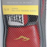Everlast - Manusi de box Velcro Pro Style - pt antrenament - 14 oz - rosii - Manusi box