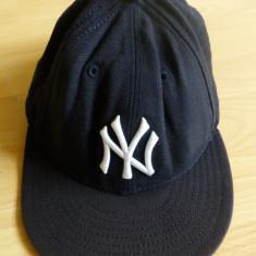 Sapca Barbati - Sapca baseball NY Authentic New Era Fits; 57.7 cm circumferinta; 100% lana