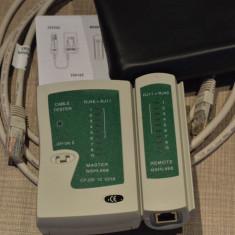 Network tester - Tester cabluri retea -