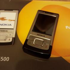 Telefon Nokia, Argintiu, Nu se aplica, Neblocat, Fara procesor, Nu se aplica - Nokia 6500 Slide - 109 lei