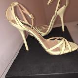 Sandale dama D&G, Piele naturala - Sandale Dolce&Gabanna 38, 5