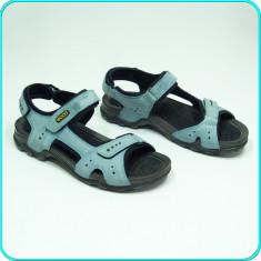 DE FIRMA _ Sandale, DIN PIELE, comode, aerisite, fiabile, ECCO _ barbati | nr 41 - Sandale barbati Ecco, Culoare: Bleu
