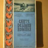 Carte limba romana clasa I N. Cartojan Craiova 1927 - Carte veche