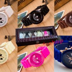 Pachet SPECIAL 6 ceasuri sport de dama + cutie cu compartimente CADOU! - Ceas dama Guess