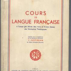 CURS DE LIMBA FRANCEZA, TEOLOGIE 1961 Altele