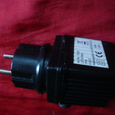 Adaptor- Transformator Schutztransformator -Germania IP44 230 V la 24 V
