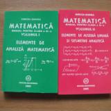 Matematica - Manual clasa a 9-a - Vol 1+2 - Mircea Ganga - Manual scolar mast, Clasa 9, Mathpress