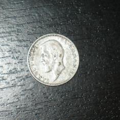 Moneda argint 1 leu Romania 1910, regele Carol I, necuratata - Moneda Romania