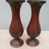 Set 2 vaze din alama pictata manual ER051