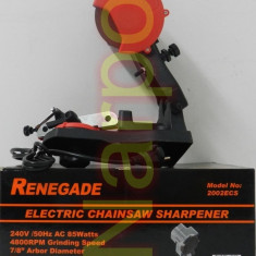 Aparat de ascutit lant drujba Renegade 85W 2002ECS - Masina de ascutit