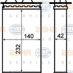 Schimbator caldura, incalzire habitaclu FIAT CINQUECENTO 0.9 i.e. S - HELLA 8FH 351 313-201 - Sistem Incalzire Auto