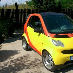 Smart fortwo - Autoturism Smart, An Fabricatie: 2002, Motorina/Diesel, 122000 km, 799 cmc