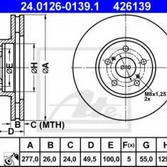 Disc frana TOYOTA AVENSIS Combi 2.0 VVTi - ATE 24.0126-0139.1 - Discuri frana REINZ
