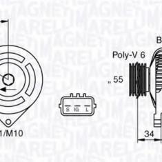 Generator / Alternator TOYOTA RAV 4 Mk II 1.8 VVTi - MAGNETI MARELLI 063377432010 - Alternator auto