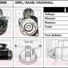 Starter SAAB 9-5 2.0 TTiD - DELCO REMY DRS3988 - Electromotor