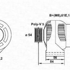 Generator / Alternator BMW 3 limuzina 318 tds - MAGNETI MARELLI 943355019010 - Alternator auto