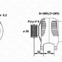 Generator / Alternator CITROËN ZX 1.8 i - MAGNETI MARELLI 943356964010 - Alternator auto
