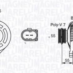 Generator / Alternator UAZ PATRIOT 2.3 D - MAGNETI MARELLI 063533250530 - Alternator auto