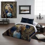 Set lenjerie de pat din bumbac Păstrătoarea vrăjilor 220x230