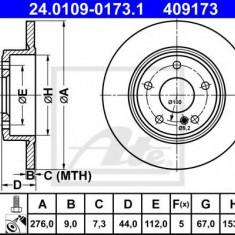 Disc frana MERCEDES-BENZ B-CLASS B 180 Turbo - ATE 24.0109-0173.1 - Discuri frana REINZ