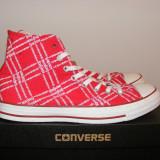 Tenisi Converse Red din panza marimea 39, 5 40 44 - Tenisi barbati Converse, Culoare: Din imagine, Textil