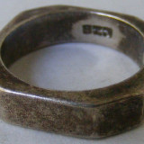 Inel vechi din argint (80)