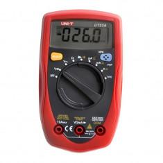 Multimetru digital UT33A UNI-T, 5 functii