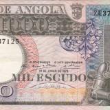 ANGOLA 1.000 escudos 1973 VF+++!!!
