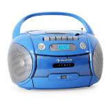 Auna Boomboy player portabil radio USB MP3 albastru - CD player