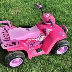 Masinuță electrică ATV Peg Perego Princess - Masinuta electrica copii