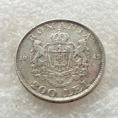 200 LEI 1942-ARGINT-REGELE MIHAI - Moneda Romania, An: 1942, Argint