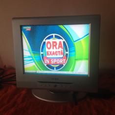 TV LCD 15 INCH ALIMENTARE 12 V AUTO ALBA - Televizor LCD, Sub 19 inchi, Scart: 1