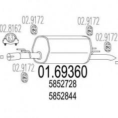 Toba esapament finala OPEL OMEGA B 2.5 TD - MTS 01.69360 - Toba finala auto
