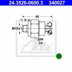 Comutator, lampa frana - ATE 24.3526-0600.3 - Intrerupator - Regulator Auto