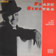 Frank Sinatra My Blue Heaven disc Vinyl lp muzica jazz big band 1976 electrecord, VINIL