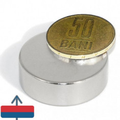 Magnet puternic neodim disc 30x10 neodymium